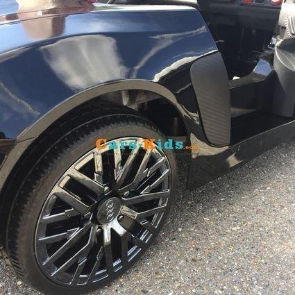Электромобиль Audi R8 (колеса резина, сиденье кожа, музыка, пульт)